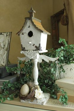 Karen Valentine birdhouse